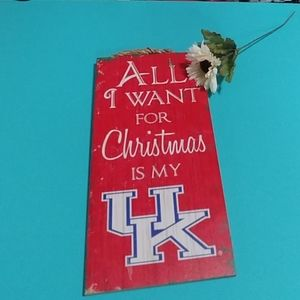🎄Kentucky Wildcats Christmas Sign